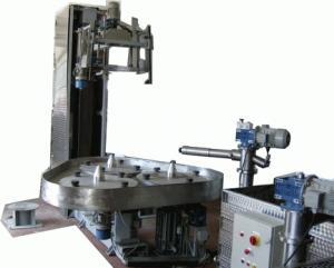 impilatrice Ferrara modello Filos ad un braccio,a controllo numerico,bancale inox ESCAPE='HTML'